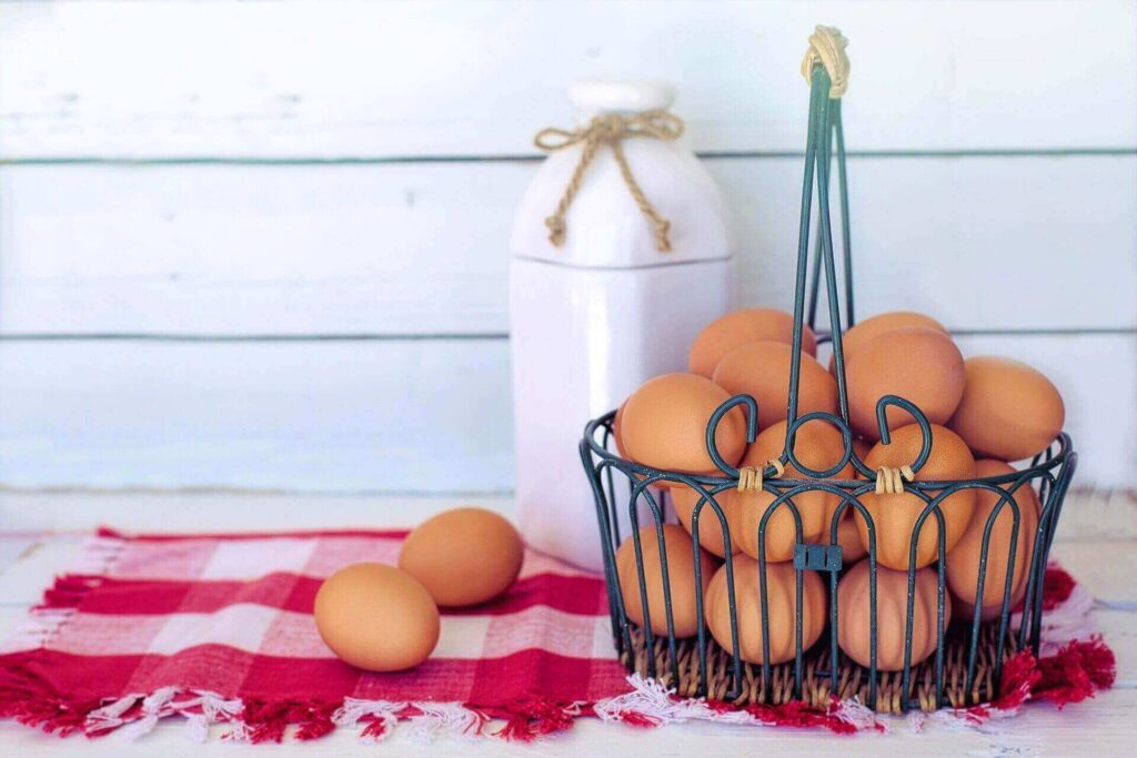 Eggs are a good diet for expectant mothers